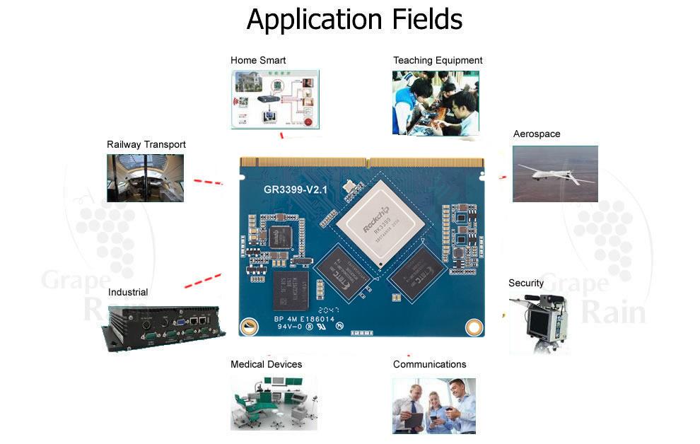 Arm Cortex A72 G3399 Development Boards – Graperain